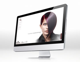VIVA hairdresser's saloon – web design