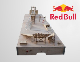 Red Bull Slope Buzz – wire buzzer game