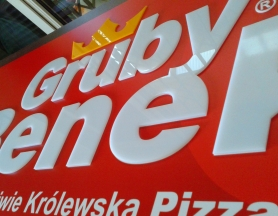 Gruby Benek – signboard creation