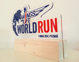 Wings For Life World Run – trophy design