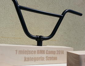 BMX Camp 2014 – trophy design