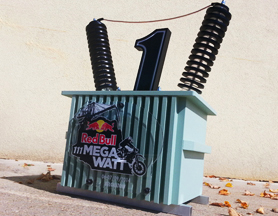 Red Bull 111 Megawatt – Trophy design