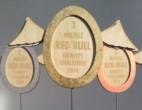 Red Bull Gravity Challenge – statuetki