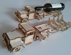 Kenworth truck – wine display design