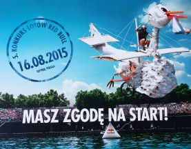 Red Bull Flugtag 2015 Poland – starter pack for competitors