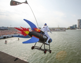 Red Bull Flugtag 2015 – promotional vehicles for sponsors
